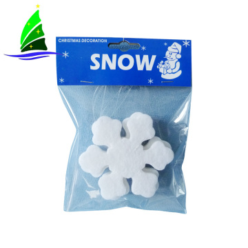 quality white snowflake hanging christmas tree decoration