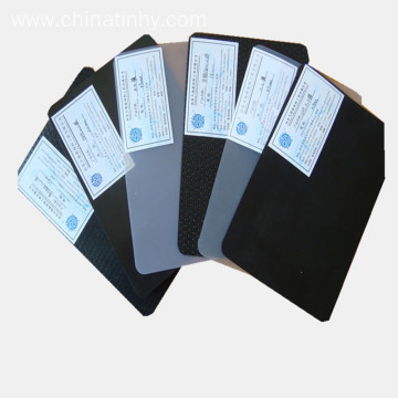 HDPE 1.0mm smooth waterproofing geomembrane for lake