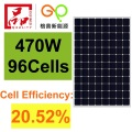 465W Mono Solar Panel High Efficiency