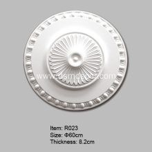 China supplier OEM for Foam Ceiling Medallions Egg Type Polyurethane Ceiling Rose export to South Korea Importers