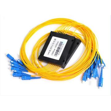 1 16 2 16 ABS Module Fiber Optical PLC Splitter