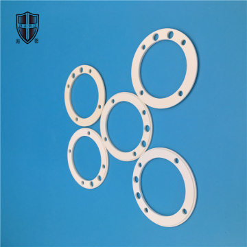custom made alumina ceramic ring disc flange