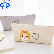 New Fashion Design for Pencil Box Cute cartoon pen bag triangle small fresh box supply to Indonesia Factory