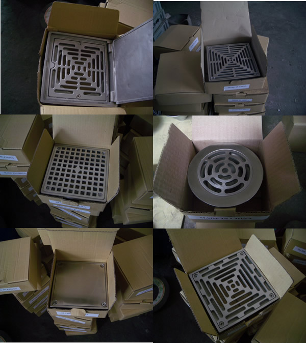 Cast Floor Drains