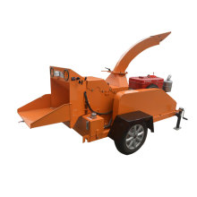 Forest use  mobile branches wood chipper