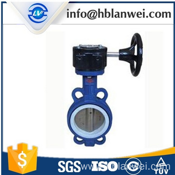 Bottom price for Cast Iron Butterfly Valve Worm gear butterfly valve D371X-16 export to Poland Factories