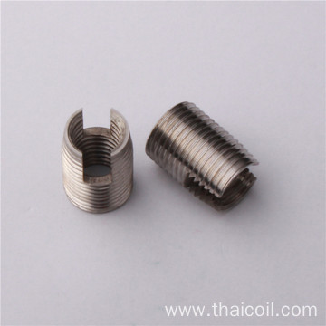 M10 1.25 brass self tapping thread inserts