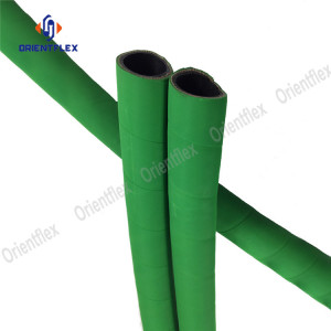 Flexible water discharge rubber hoses