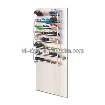 24 Pairs Door Hanging Shoe Rack Organizer