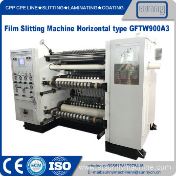 Plastic film Slittng Machinery