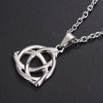 Custom Jewelry Mens Gold Celtic Knot Necklace