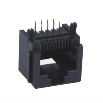 RJ45 Jack Side Entry Full Plastic with Panel