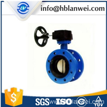 Worm Gear Double Flange Butterfly Valve D341X-16