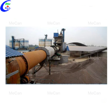 Self-designed gypsum powder plaster production line equipment