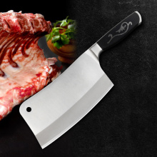 Abrasion and corrosion resistance chop bone knife