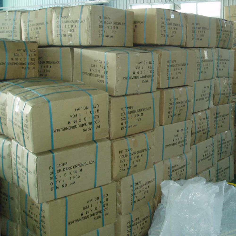 Tarps Carton Packing