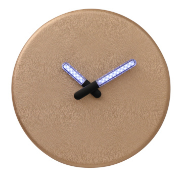 Lighting Wall Clock for Decor
