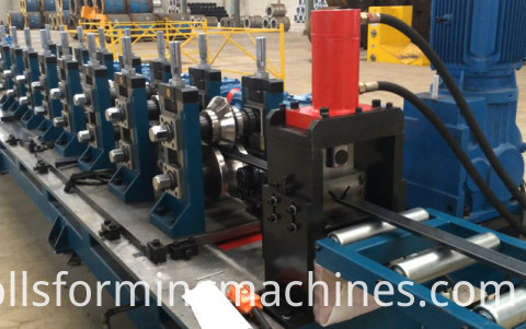 Steel And Metal Slotted Angle Roll Forming Machine