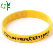 Renewable Design for Custom Printed Silicone Bracelets Personalized Custom Silicone Bracelet Has Several Color export to France Manufacturers
