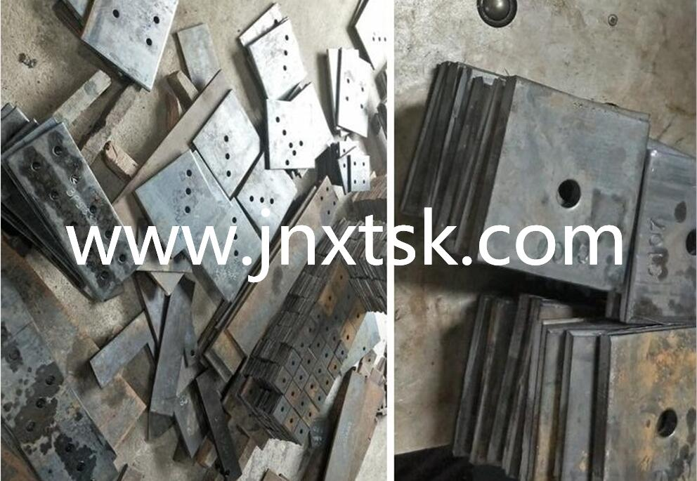 Steel Plate Punching Marking Sample