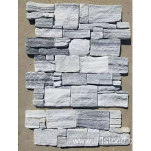 China for Stone Cladding Panels Ice gray regular style cement stone panel supply to Portugal Manufacturers