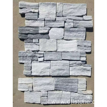 Ice gray regular style cement stone panel