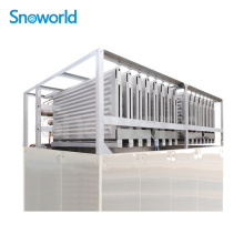 High Quality Industrial Factory for Plate Ice Machine Evaporator Snoworld 1 Ton/day to 25 Ton/day Evaporator Plate Ice Machine supply to Afghanistan Manufacturers
