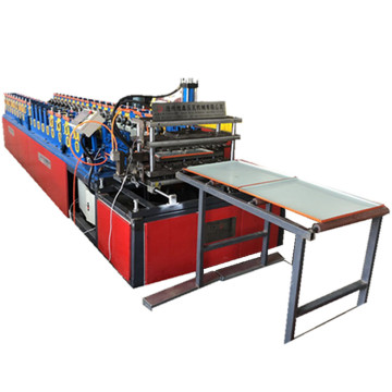 Adjustable big square plate PLC roll forming machine