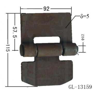 Dump Trailer Gate Hinges
