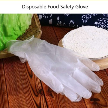 Clear Disposable Food Gloves