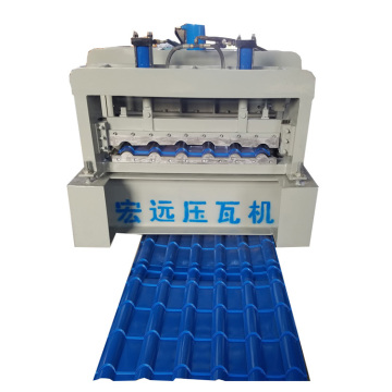 Glazed Colored Galvanized Steel Sheet Machine