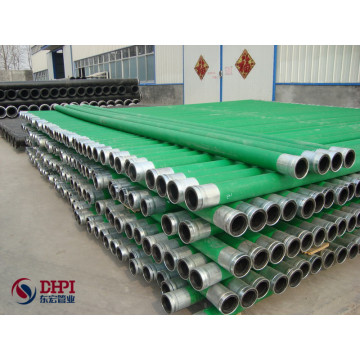 EP coated steel pipe