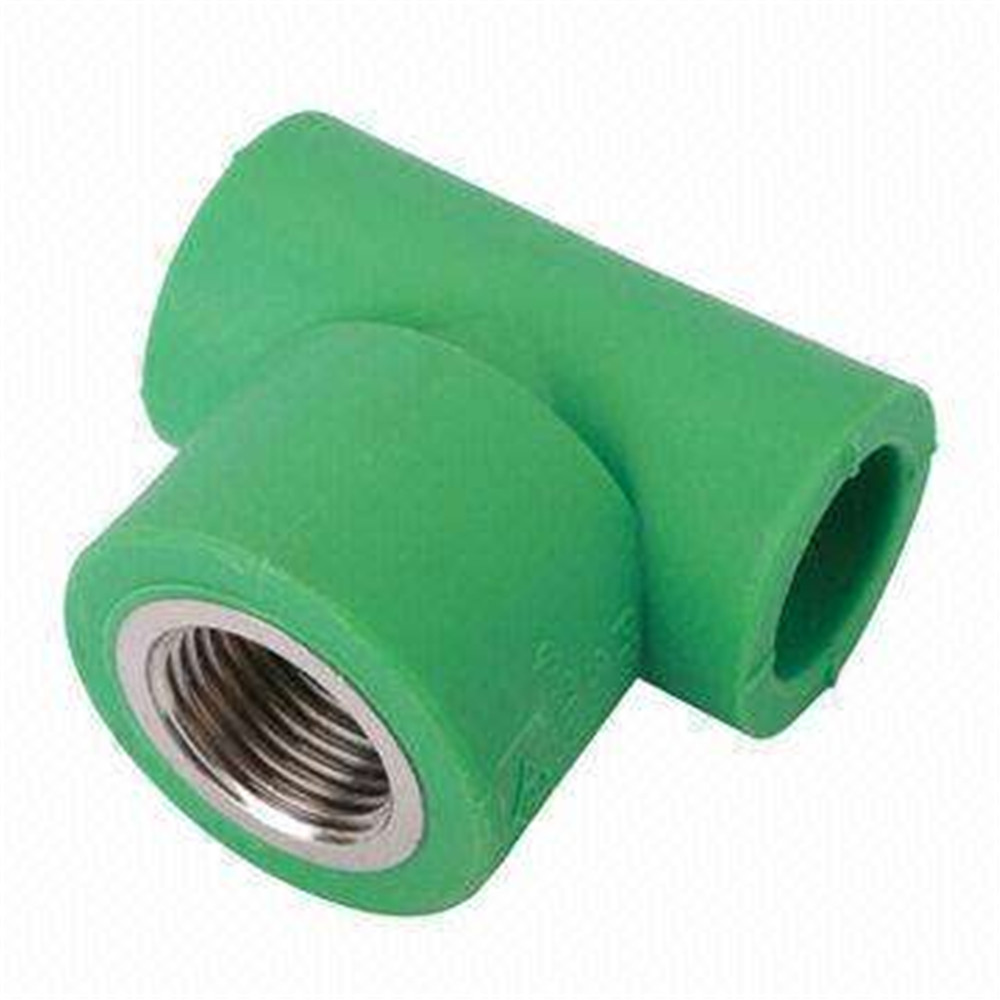 PPR Pipe And Fittings Copper Threaded Male Tee