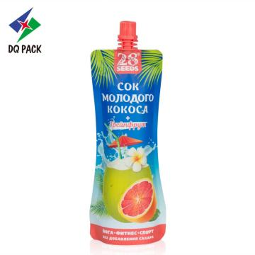 Food package plastic fruit juice packaging