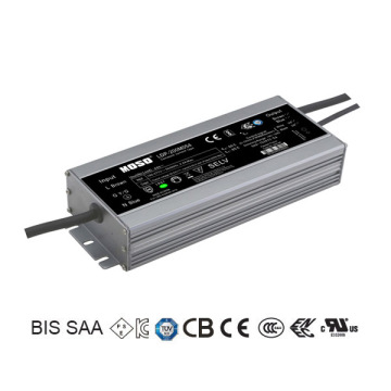 Dimmable Outdoor lighting LED Power Supply 105W