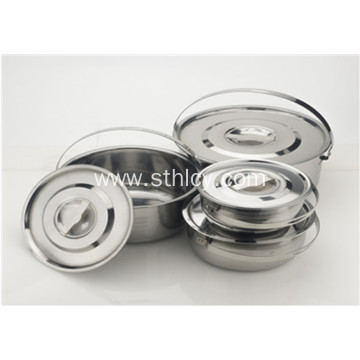 Double Layer Multiclad hindi kinakalawang na Steel Stainless Cookware