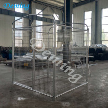 China OEM for Stainless Steel Wire Rope Mesh High Quality Outdoor Large Dog kennel Metal Fence export to Australia Manufacturers