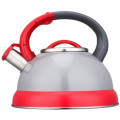 2.5L Stainless Steel color painting whistling Teakettle