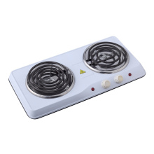 China for Double Iron Hotplate P2500W Double Electrical Spiral Hot Plate export to Turkey Exporter
