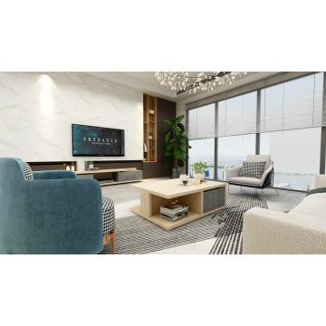 Light Wenge Modern Living Room Set