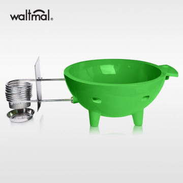 Waltmal Outdoor Hot Tub in Grass Green