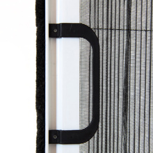 Hot sale good quality for Pleated Screen For Door foldable door mesh fly screen supply to France Wholesale