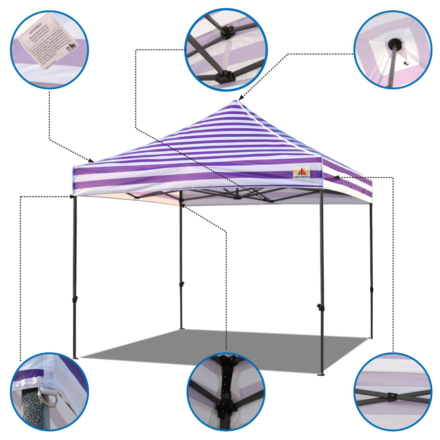 10x10 ez pop up tent canopy replacement top