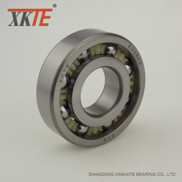 Open Type Nylon Retainer Bearing 6305 TN