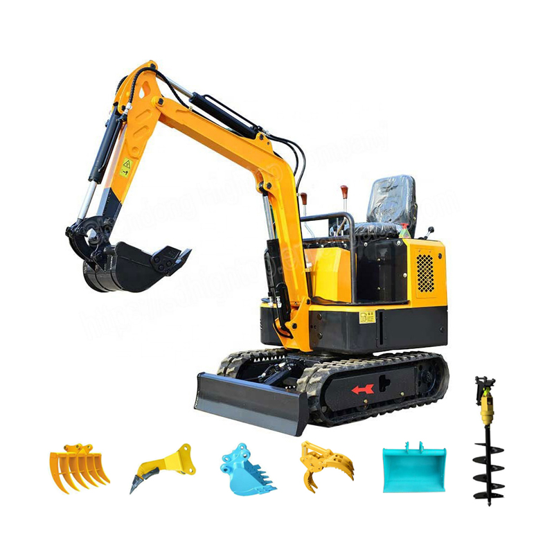 High performance crawler hydraulic mini excavator price