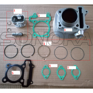 SCOMADI CYLINDER KIT ASSY 150CC PERFOMANCE PARTS AFTER 2016 ORIGINAL QUALITY
