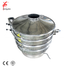 Factory hot sales stainless steel rotary vibrating screen sieve machine