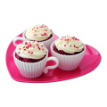 Food Grade Silicone Cup Cake Molds With Saucer