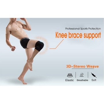 knee sleeve brace support with straps sports joint