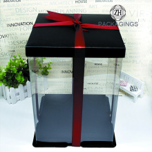 Plastic Bake Cake Packaging Box Gift Boxes